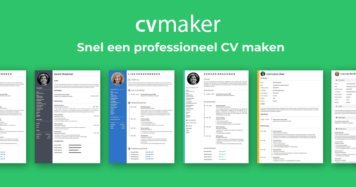 Want To Create A Professional Cv Its Quick And Easy With Our Handy